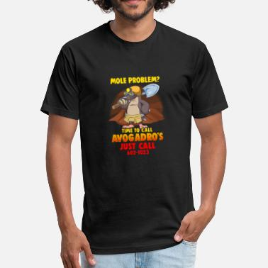 Mole Mole Problem? Chemistry Avogadro's Number Mole Day - Fitted Cotton/Poly T-Shirt by Next Level