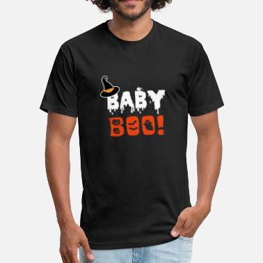 Boo Baby Boo - Fitted Cotton/Poly T-Shirt by Next Level