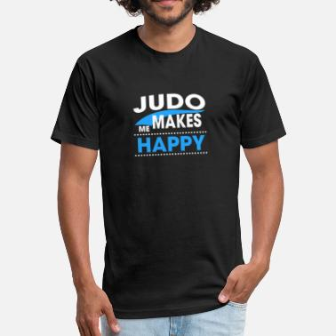 Judos JUDO - Fitted Cotton/Poly T-Shirt by Next Level