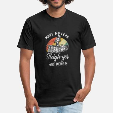 Sleigh Sleigh - Fitted Cotton/Poly T-Shirt by Next Level