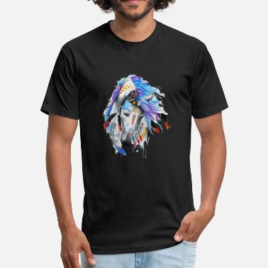 Beautiful Horse Beautiful Horse - Fitted Cotton/Poly T-Shirt by Next Level