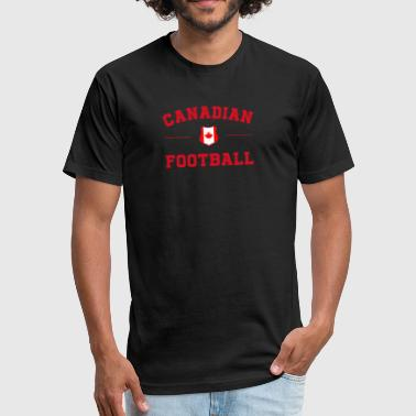 Canada Soccer Canada Football Shirt - Canada Soccer Jersey - Fitted Cotton/Poly T-Shirt by Next Level