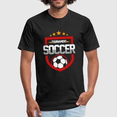 Tournament Soccer - Fitted Cotton/Poly T-Shirt by Next Level