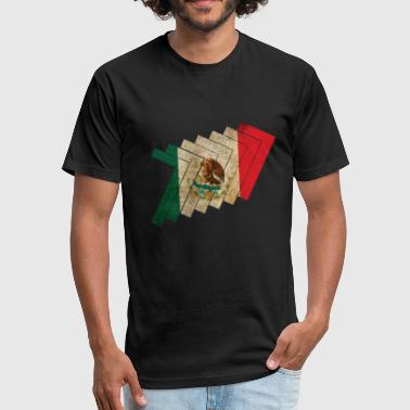 Latin America Mexico Latin - Fitted Cotton/Poly T-Shirt by Next Level