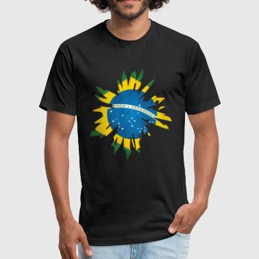 Brazil Rio de Janeiro - Fitted Cotton/Poly T-Shirt by Next Level