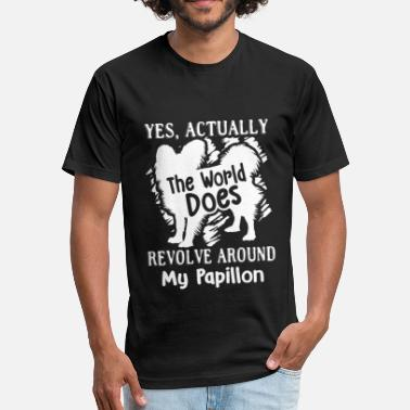 Revolver-shirt Revolve Around My Papillon Shirt - Fitted Cotton/Poly T-Shirt by Next Level