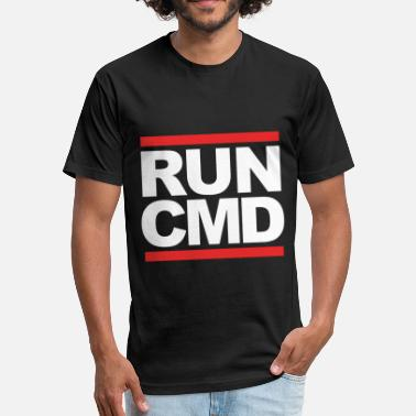 Cmd run cmd - Fitted Cotton/Poly T-Shirt by Next Level