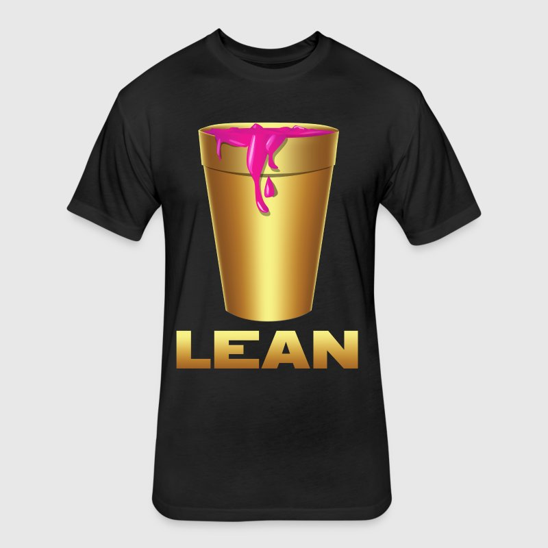 LEAN GOLD - Fitted Cotton/Poly T-Shirt by Next Level
