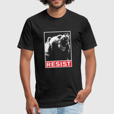 Resist - resist - Fitted Cotton/Poly T-Shirt by Next Level