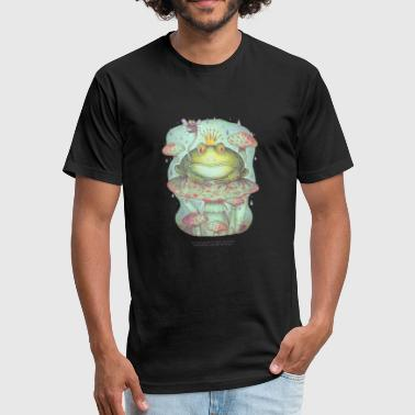 frog - Fitted Cotton/Poly T-Shirt by Next Level