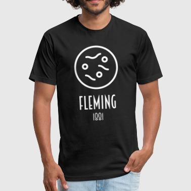 Fleming Alexander Fleming (1881) - Fitted Cotton/Poly T-Shirt by Next Level