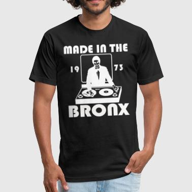 BRONX MADE - Fitted Cotton/Poly T-Shirt by Next Level