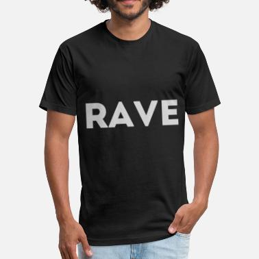Dub Techno Techno - Fitted Cotton/Poly T-Shirt by Next Level