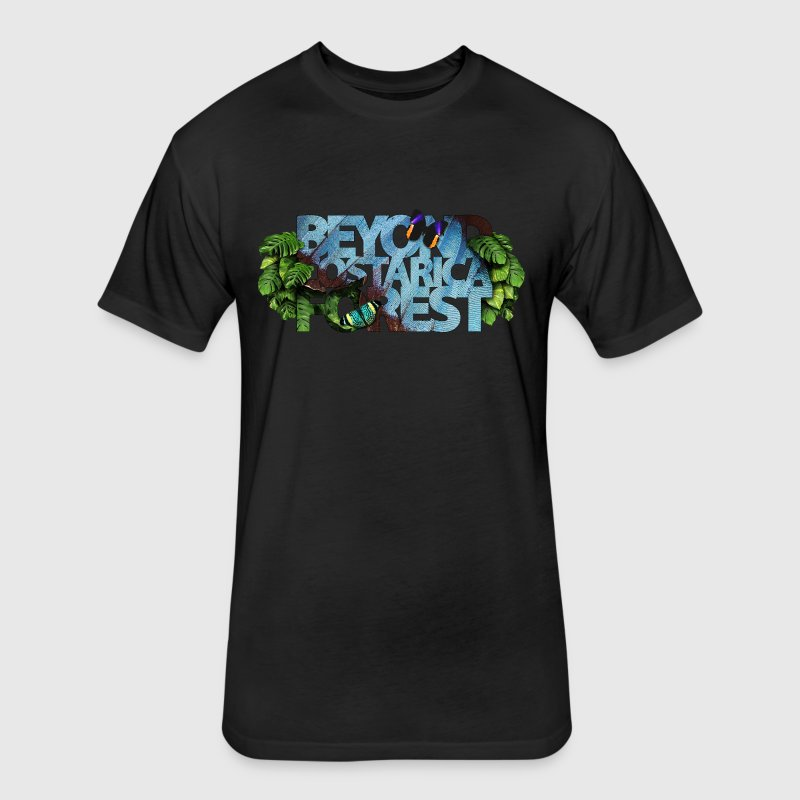 beyond_costarica_forest - Fitted Cotton/Poly T-Shirt by Next Level