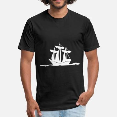 Ship Mechanic Ship - Fitted Cotton/Poly T-Shirt by Next Level
