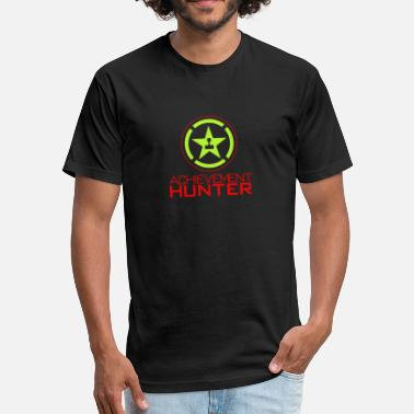 Achievement Hunter Achievement Hunter - Fitted Cotton/Poly T-Shirt by Next Level