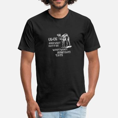 Camel Hump Day Hump Day Camel - Fitted Cotton/Poly T-Shirt by Next Level