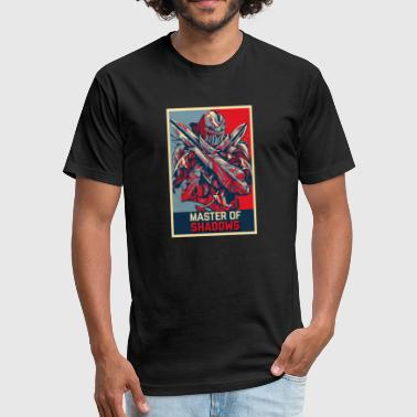 League of Legends ZED - Fitted Cotton/Poly T-Shirt by Next Level