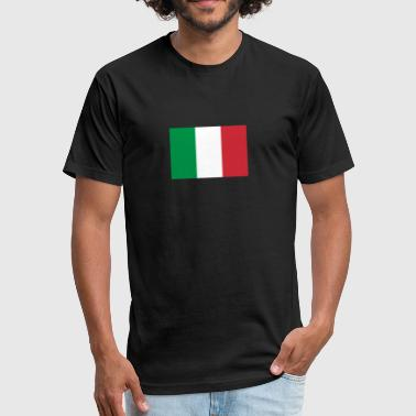 Made In Italy italy 162326 - Fitted Cotton/Poly T-Shirt by Next Level