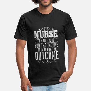 Medicines Nurse nurse medicine hospital hero shirt - Fitted Cotton/Poly T-Shirt by Next Level