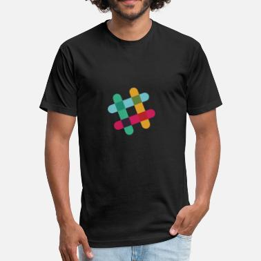 Slacking Slack - Fitted Cotton/Poly T-Shirt by Next Level