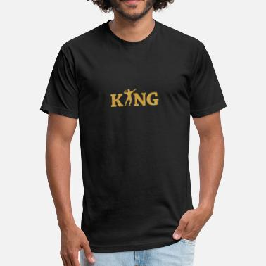 Fitness King Fitness king - Fitted Cotton/Poly T-Shirt by Next Level