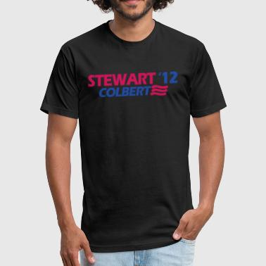 Stewart - Fitted Cotton/Poly T-Shirt by Next Level