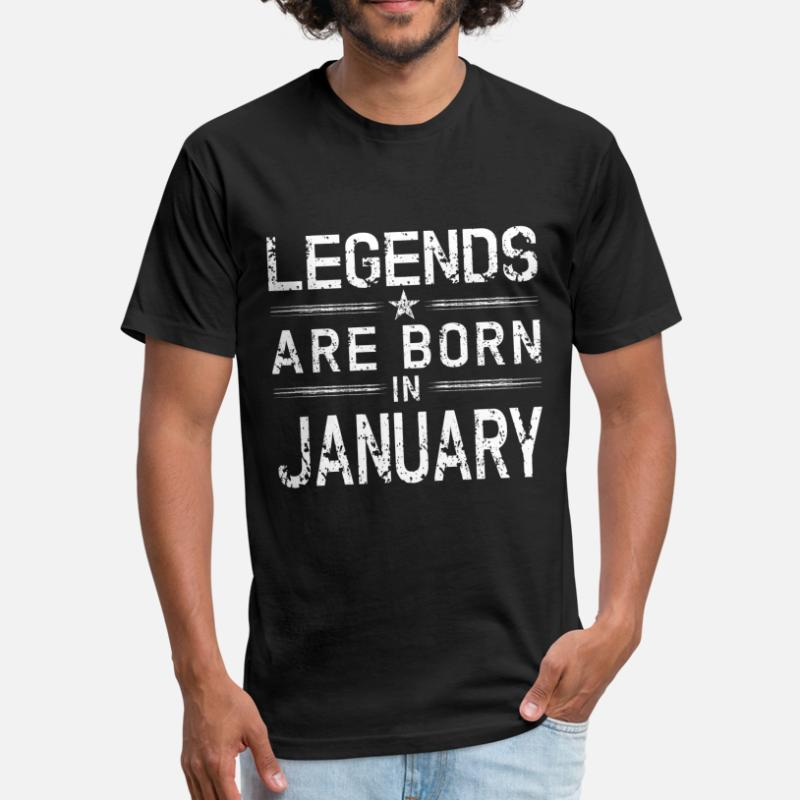 c1786dda9 Shop Legends Are Born In January T-Shirts online | Spreadshirt