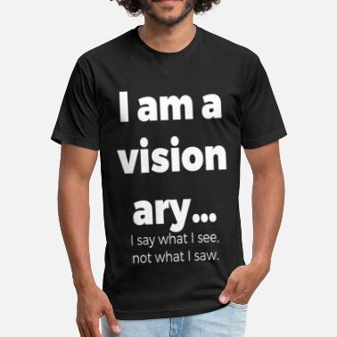 Visionary I AM A VISIONARY - Fitted Cotton/Poly T-Shirt by Next Level