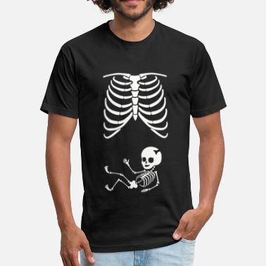 Skeleton Baby Skeleton Baby - Fitted Cotton/Poly T-Shirt by Next Level