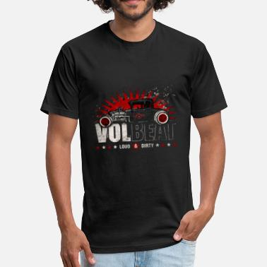 Volbeat Loud n Dirty - Unisex Poly Cotton T-Shirt