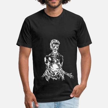 Undead undead - Fitted Cotton/Poly T-Shirt by Next Level