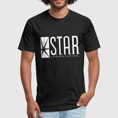 star labs laboratories - Fitted Cotton/Poly T-Shirt by Next Level