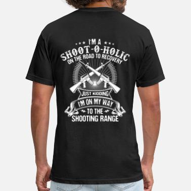 Shooting Range Shooter/Shooting Range/Shoot-O-Holic/Gift/Present - Fitted Cotton/Poly T-Shirt by Next Level