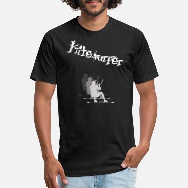 Kiteboard Kiteboarding Kiteboarding Kiteboarding Kiteboard - Unisex Poly Cotton T-Shirt