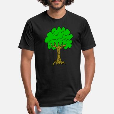 Linden Beautiful nature. Tree for environment and linden - Unisex Poly Cotton T-Shirt