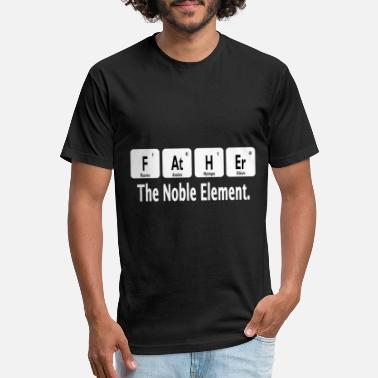 Dad Father Father the Noble Element Father Dad Father Gift - Unisex Poly Cotton T-Shirt