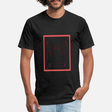 Square Face Angry square face - Unisex Poly Cotton T-Shirt