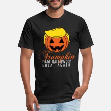 054e443512f Funny  amp  Cool Halloween Costume Tee Trumpkin - Unisex Poly Cotton T-Shirt