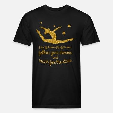 578db0abc0 inspirational gymnastics quote gymnast fans shirt Unisex Fleece Zip ...