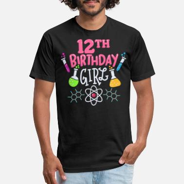 Bithday 12th Bithday Science - Unisex Poly Cotton T-Shirt
