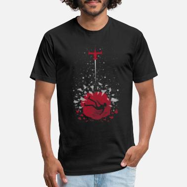 Ballads Cowboy Bebop Ballad of a Fallen - Fitted Cotton/Poly T-Shirt by Next Level
