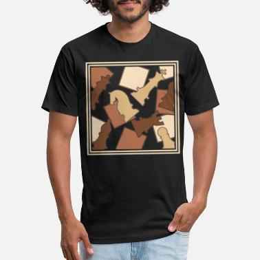Chess Figure gift idea present player board game - Unisex Poly Cotton T- Shirt 91740d8f4