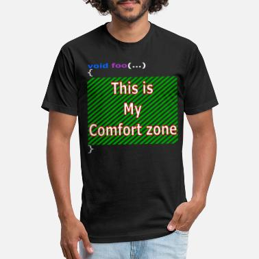 My Comfort Zone - Unisex Poly Cotton T-Shirt