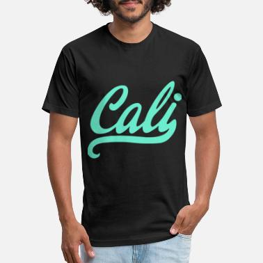 Cali New Cali Signature California Republic - Unisex Poly Cotton T-Shirt