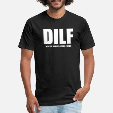 DILF - Unisex Poly Cotton T-Shirt