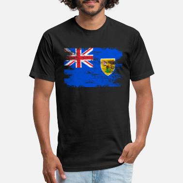 Turks And Caicos Islands Flag Turks Caicos Islands Flag Gift Country Patriotic Travel Shirt Americas Light - Unisex Poly Cotton T-Shirt