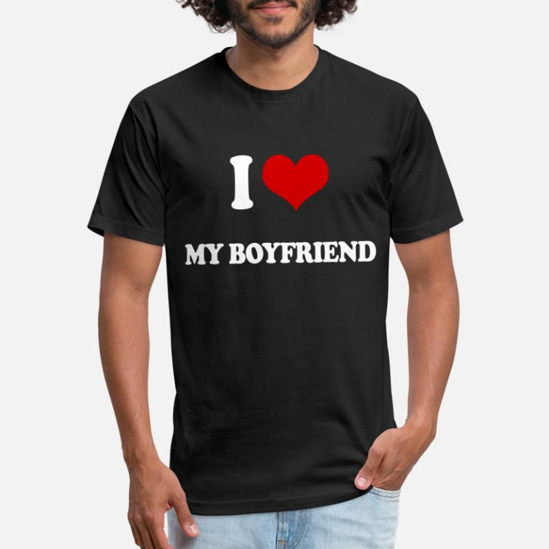 Shop I Love My Boyfriend Forever T-Shirts online | Spreadshirt
