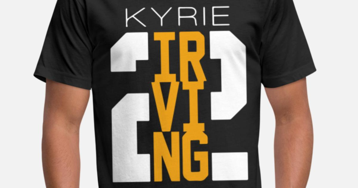 new style 590a9 fcacc Kyrie Irving Cleveland Cavaliers Cavs Tee New Bask Unisex Poly Cotton  T-Shirt | Spreadshirt