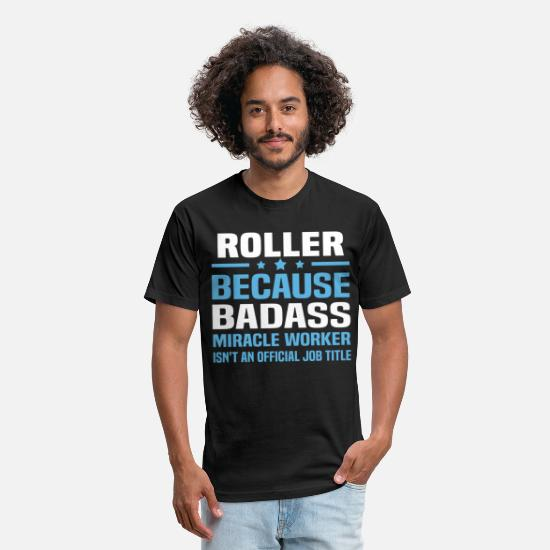 Roller T-Shirts - Roller - Unisex Poly Cotton T-Shirt black